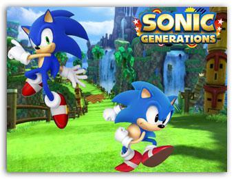 Sonic Windows 7 Themes With Sonic Generations HD Wallpaper and Sonic Icons
