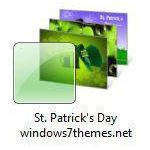 st patrick day windows 7 theme jpg