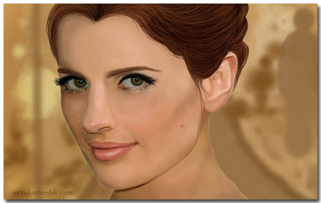 Stana Katic Wallpaper Theme With 10 Backgrounds