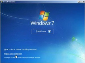 How to fix MBR in Windows 7?