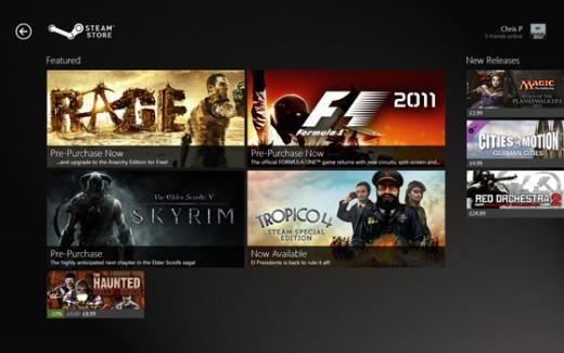 Gabe Newell: Windows 8 Bad For PCs, Gaming, Steam