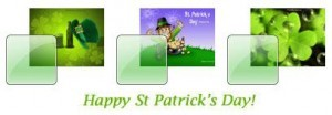 St Patrick's Day Windows 7 Theme