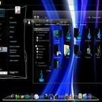 List With 9 Colorful Windows 7 Themes, Red, Blue, Darkish Skins