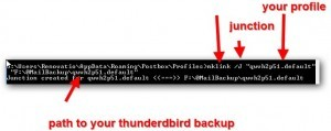 Migrating From Thunderbird To Postbox-Inc Using Symlinks To Your Old Profile