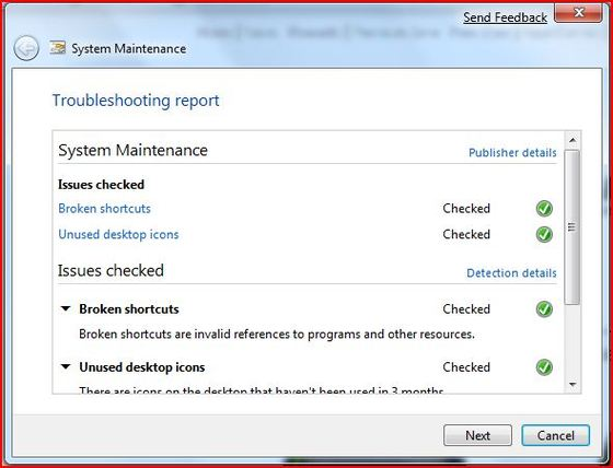 Windows 7 System Maintenance Tool *Updated*