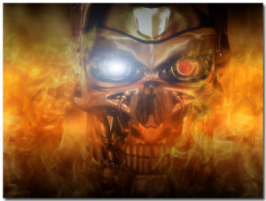 Terminator Wallpaper Theme With 10 Backgrounds