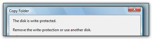 The Disk Is Write Protected (How to Remove)