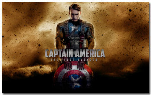 Marvel's Captain America: The First Avenger Windows 7 Theme With 10 Desktop Backgrounds