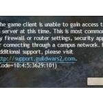 the game client is unable to gain access to the login server thumb4 jpg