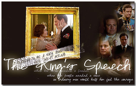 The Kings Speech Theme With 10 Backgrounds