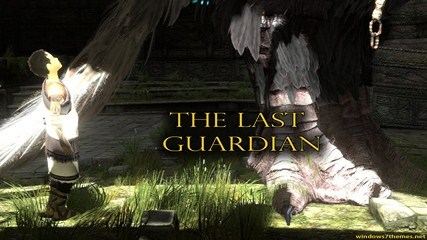 Exclusive The Last Guardian Windows 7 Theme With 9 Fan-Made Wallpapers