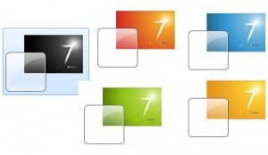 Windows 7 Themes – 5 Logo Wallpaper Themes
