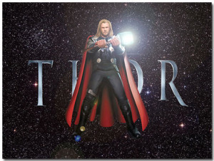 Thor Theme With 10 Backgrounds