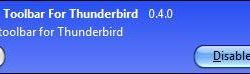 Thunderbird stopped sending emails (after upgrade to 3.1.4)