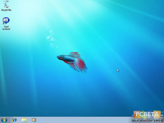 Windows 7 Beta 1 Screenshots