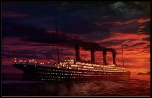Titanic Windows 7 Theme Featuring Titanic Fan-Art