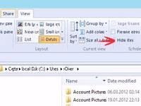 Unhide Hidden System Folders Like AppData on Windows 8