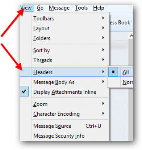 View Email Headers In Thunderbird 100x100 Png