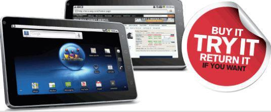 ViewSonic's Money-Back-Guarantee On ViewPad7 Android Tablet Overconfident?