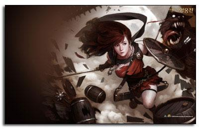 Vindictus MMO Trailer, Pictures, Wallpaper & Theme + RPG cursors