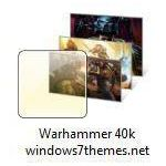 warhammer 40k space marines windows 7 themes jpg