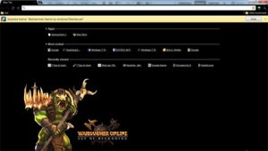 Google Chrome Warhammer Theme