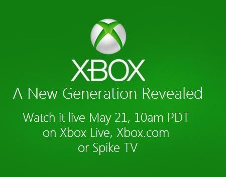 Microsoft Event: New Xbox 720 To Be Revealed On May 21st