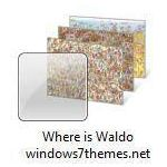 where is waldo windows 7 theme jpg