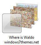 """Where is Waldo"" Windows 7 Theme"