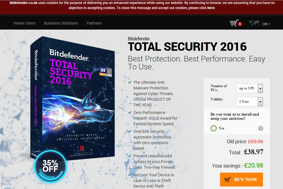 Bitdefender Shines As Top Windows 10 Internet Security Product