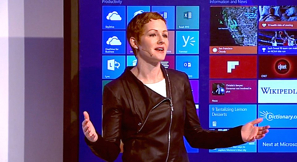 Microsoft's Julie White Discusses Windows 10 Security Features During Enterprise Conference
