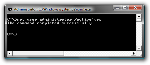 How to login as administrator in Windows 7?