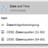 Windows 10 Date And Time Control Panel 100x100 Png