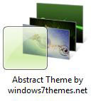 Beautiful Abstract Desktop Theme