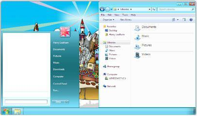 Windows 7 Basic Themes