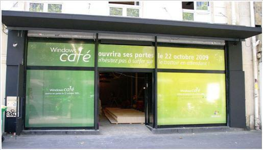 Microsoft Opening Café in Paris To Sell Windows 7 & Co