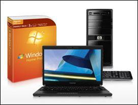 Buy Windows 7 Family Pack: Take $150 Off All PC's