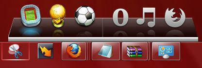 Windows 7 Dock Toolbar/Gadget