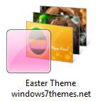 Windows 7 Easter Desktop Theme!