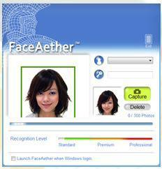 Windows 7: Facial Recognition Software