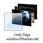 windows 7 lady gaga theme jpg