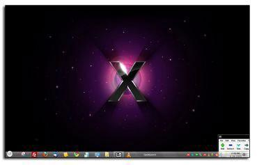 Windows 7 Mac Theme Screenshots
