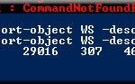 Linux Users Should Use the Windows 7 Powershell (LS, MAN, PS on Windows 7)