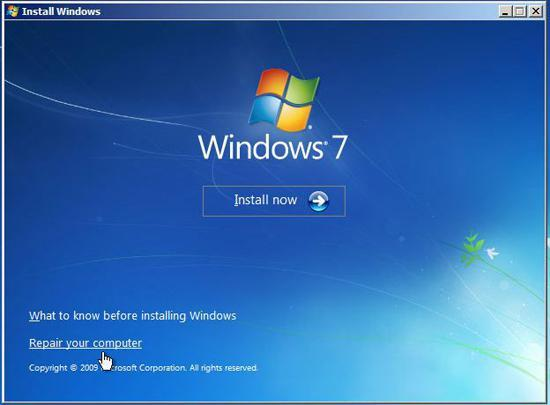 "Fix Windows 7 – ""Error: Loading Operating System"""