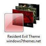 windows 7 resident evil theme jpg