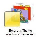 windows 7 simpsons theme jpg