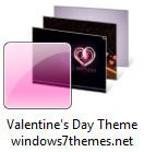 Beautiful Windows 7 Valentine's Day Theme For 2015