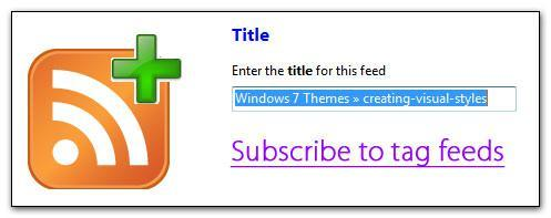 Creating Windows 7 Visual Styles: Subscription
