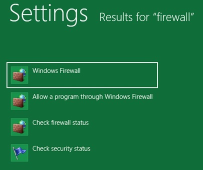 How To Disable Firewall in Windows 8