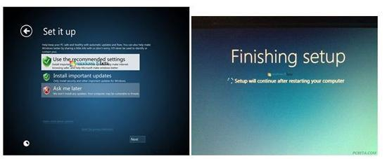 New Windows 8 Installation Screenshots Leaked